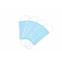 Quality Anti Pollution Breathable Unisex Disposable Earloop Face Mask for sale