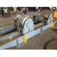 Buy Automatic Pipe Welding Turning Rolls Tanks Rotator Double Motorized For Storage Vessels at wholesale prices