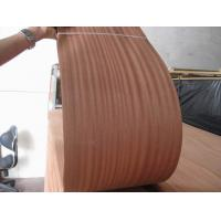 Quality Sliced Natural Sapele Wood Veneer Sheet for sale