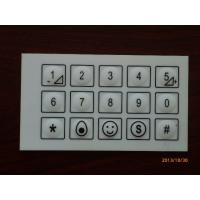 Quality Professional Keypad PCB Membrane Switch With 3M Adhesive / IPC Standard for sale