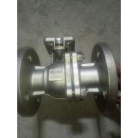 Buy cheap SUS 304 SUS 316 JIS 10K 50A 80A 2PC Floating Flanged Ball Valve from wholesalers