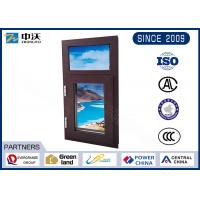 Quality Gal. Steel Fire Resistant Windows With Manual Switch High Strength for sale
