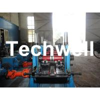 Quality C Section Channel Roll Forming Machine with Gearbox Drive for Making Steel C Purlin for sale