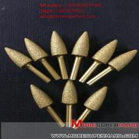 Quality Vacuum brazing diamond CNC automatic flat carving, circular carving, carving knife  Alisa@moresuperhard.com for sale
