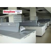 China Professional Chemistry Lab Countertops / BenchTop With Epoxy Resin Material on sale