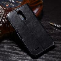 Quality 3 Slots LG K10 PU LG Leather Case Magnetic Handmade Folio Style Side - Open for sale
