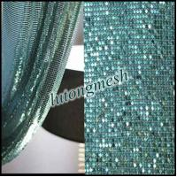 Quality Decorative Metal Sequin Fabric for room divider for sale