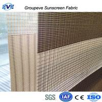 Quality Sunscreen Zebra Double Roller Fabric Blinds/ Shades for sale