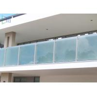 Polished Outdoor Stair Handrail Lightweight Aluminum Railings For Decks