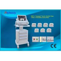 Quality Double Treatment Heads Hifu Machine For Wrinkle Removal 15'' Color Touch Screen for sale