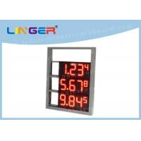 Quality Multi Functional Digital Gas Price Signs High Brightness OEM / ODM Available for sale