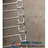 Quality Stainless Steel Wire Ladder Belt, Single Loop End Belt Type, for Food Processing for sale