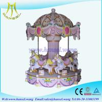 Quality Hansel indoor amusement park rides royal horse carousel rides for sale