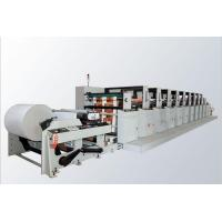Quality Paper Film Flexographic Printing Machine With Inverter - Fed Motor Control RZJ-A for sale