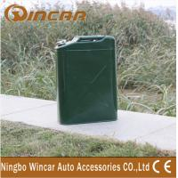 China Vertical Zinc Plated 4X4 Off-Road Accessories Oil Tank For Car on sale