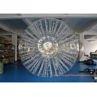 Quality PVC Or TPU Inflatable Land Zorb Ball For Event / Giant Human Hamster Ball for sale