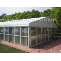 Luxury event tent with glass wall, wooden floor from Liri tent for export for sale