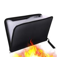 Quality High Security Fireproof Bag , Fire And Water Resistant Document Bag for sale