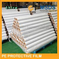 Stable Viscosity Wide PE Protective Film For Windows Hot Temperature Endurable for sale