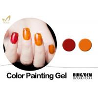 Quality Beauty Nail Painting Design Gel Nail Art Paint With Different Size No Smudging for sale