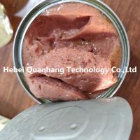 China Natural canned beef with high protein paste canned pet food Dog canned food and cat canned food on sale