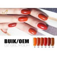 Quality No Chemicals UV LED Gel Nail Polish Soak Off Color Gel For Nail Manicure for sale