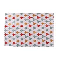 Quality Decorative Square Dining Table Mats Cotton Fabric 40 * 35cm For Home / Restaurant for sale