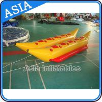 Quality Water Games Inflatable Boats Double Tubes Flying Fish Inflatable Banana Boat for sale
