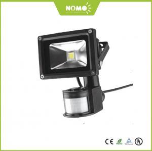 Quality New CE ROHS  EMC LVD IP65 10W 50W Outdoor COB LED Flood Light with PIR Motion Sensor for sale