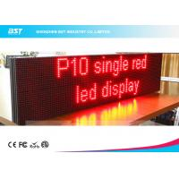 Quality Lightweight Moving Message Led Sign Programmable Led Display With 10mm Pixel Pitch for sale