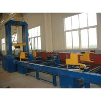 Quality H Beam Assembly Machine Hydraulic Synchronize Clamp Flange Web Plate Combined Made in China for sale