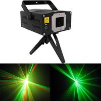 Quality Red 8 Patterns 80mW Rgb Laser Light With Double Motors / Rotating for sale