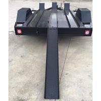 Quality 7x5 Three Track Motorcycle Transport Trailer , 2 Bike Motorcycle Trailer for sale