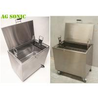 Quality Heated Soak Tank to Clean Carbon from Baking Pans Pizza Pans with Chemical for sale