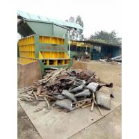 Quality Scrap Metal Automatic Shear Machine Control Carried Out By Grabber Crane for sale