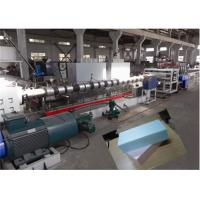 Quality Double Stage XPS Foam Board Production Line Temperature Control System for sale