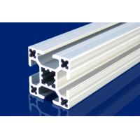 Quality 4mm T Slot Aluminum Extrusion Profiles Silver For Installment Window , Door for sale