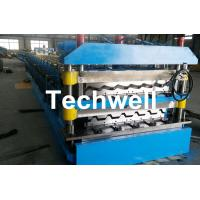 Quality Chain Transmission Double Layer Roll Forming Machines For Corrugated Sheets for sale