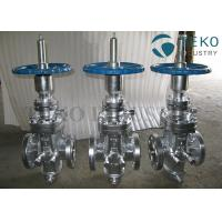 Quality Butt Weld Wedge Gate Valve , Self - Tightening Slab Expanding Gate Valve For Natural Gas for sale