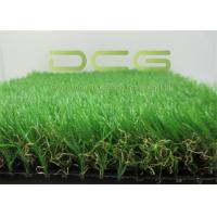 Quality Fast Dry PE Realistic Artificial Grass Landscaping C Shape With SGS Approved for sale