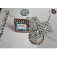 Perforated Base Insulation Fixing Pins For Reinforceing Sound Absorbing Fabrics
