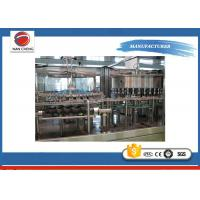 Quality Small Scale Soda Bottling Equipment , PET Bottle Automatic Bottle Filling Machine for sale