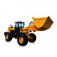 Quality 660B 3.5CBM Articulating Front End Loader 6000kg Rated Load With Bucket Capacity for sale