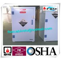Quality White Chemical Hazardous Storage Cupboards For Storing Strongly Corrosive Materials for sale
