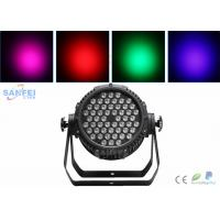 Buy cheap IP65 LED Par Can Stage Lighting 54*3w Led Par Light 3 In1 4 In 1 RGBW from wholesalers