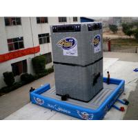 Quality Rock Climbing Wall Inflatable Amusement Park With 0.55mm Pvc Tarpaulin for sale