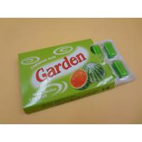 Quality Garden Long Shape Pop Bubble Gum Chewing Gum Kids Tasty OEM Available for sale