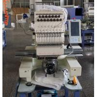 China Automatic White Embroidery Machine Multi Needle For Pants / Work Uniforms 540 x 375mm on sale