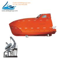 Buy cheap Freefall Lifeboat 19 Person Capacity and Launching Appliance For Sale ABS from wholesalers