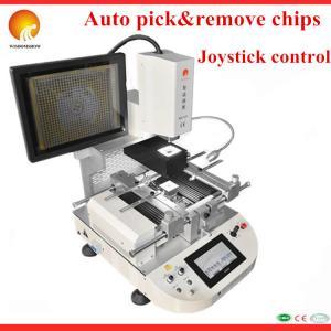 Quality New design 110V/220V auto laser bga chip repair device WDS-620 ir BGA rework station with video for sale
